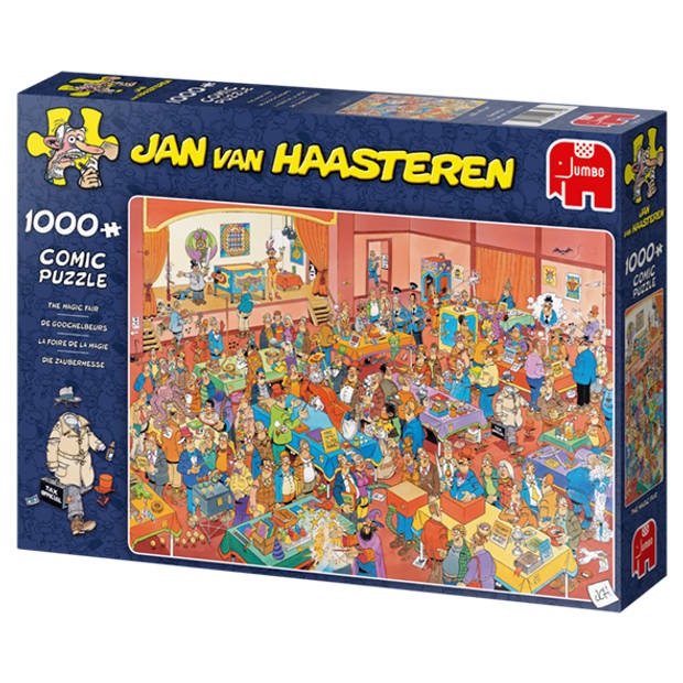 Jan van Haasteren puzzel de goochelbeurs - 1000 stukjes