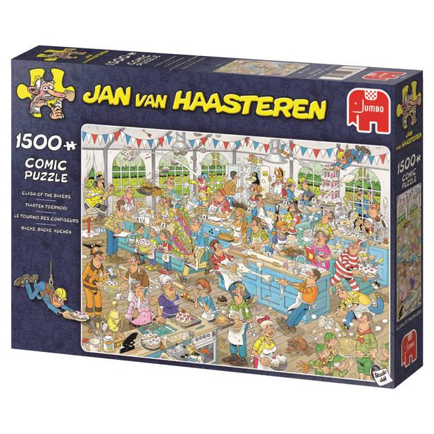 Jan van Haasteren puzzel taarten toernooi - 1500 stukjes