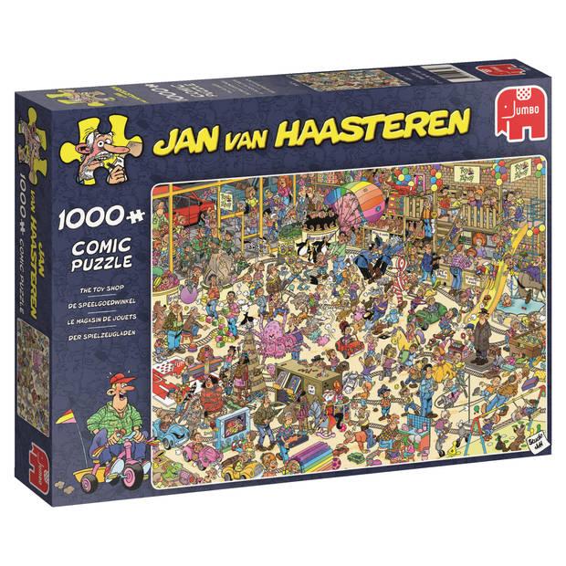 Jan van Haasteren puzzel de speelgoedwinkel - 1000 stukjes