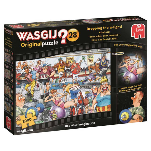 Wasgij Original puzzel 28 Afvalrace! - 1000 stukjes