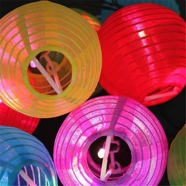 Party Lighting Feestverlichting met 20 gekleurde LED Lampionnen