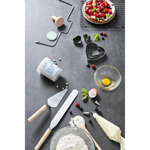 Blokker taartsnijder - met schraper