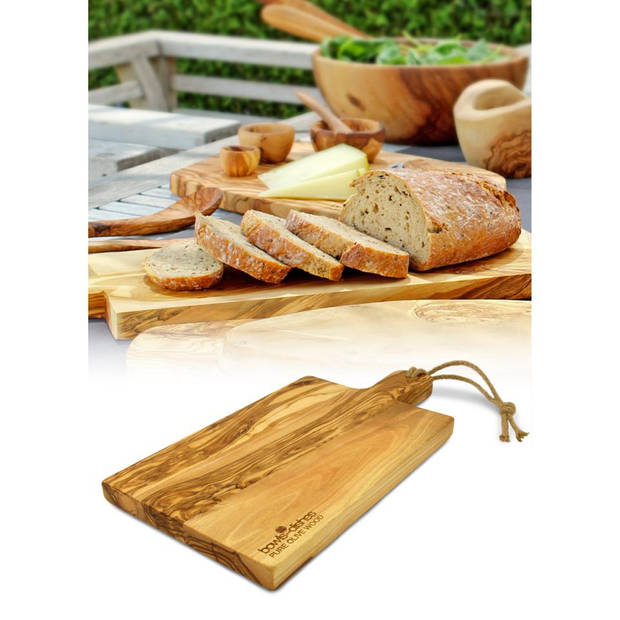 Bowls and Dishes bakkersplank - olijfhout - 50 cm
