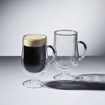 Korting Set Van 2 Irish Coffee Glazen 275ml Kitchencraft Le'xpress