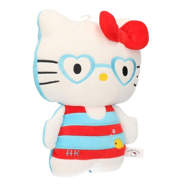 Pluche hello kitty in badpak 25 cm