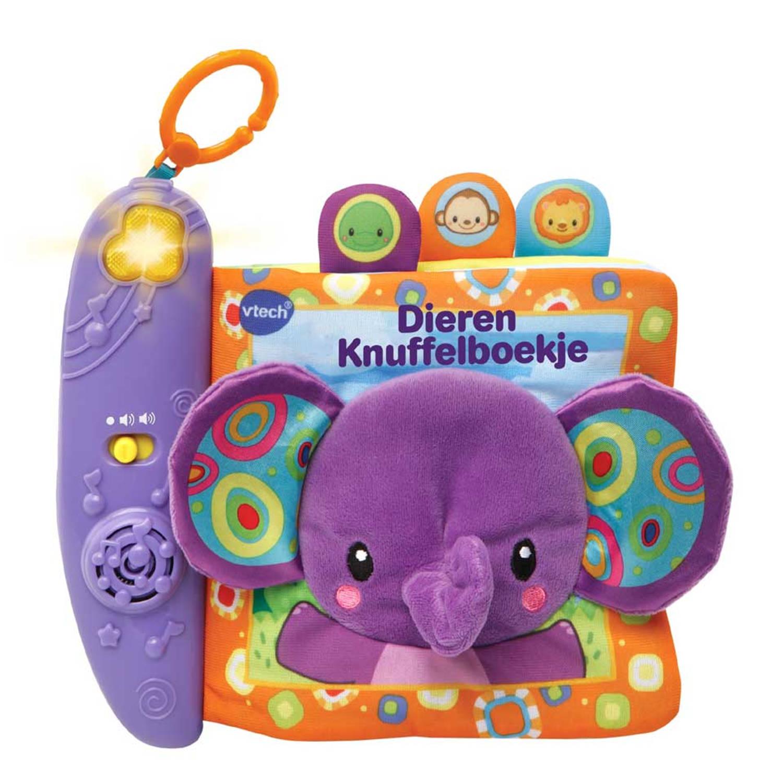 VTech Baby dieren knuffelboekje