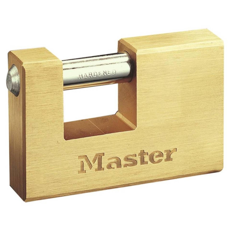 Korting Master Lock Hangslot Gepantserd Massief Messing 85 Mm 608eurd