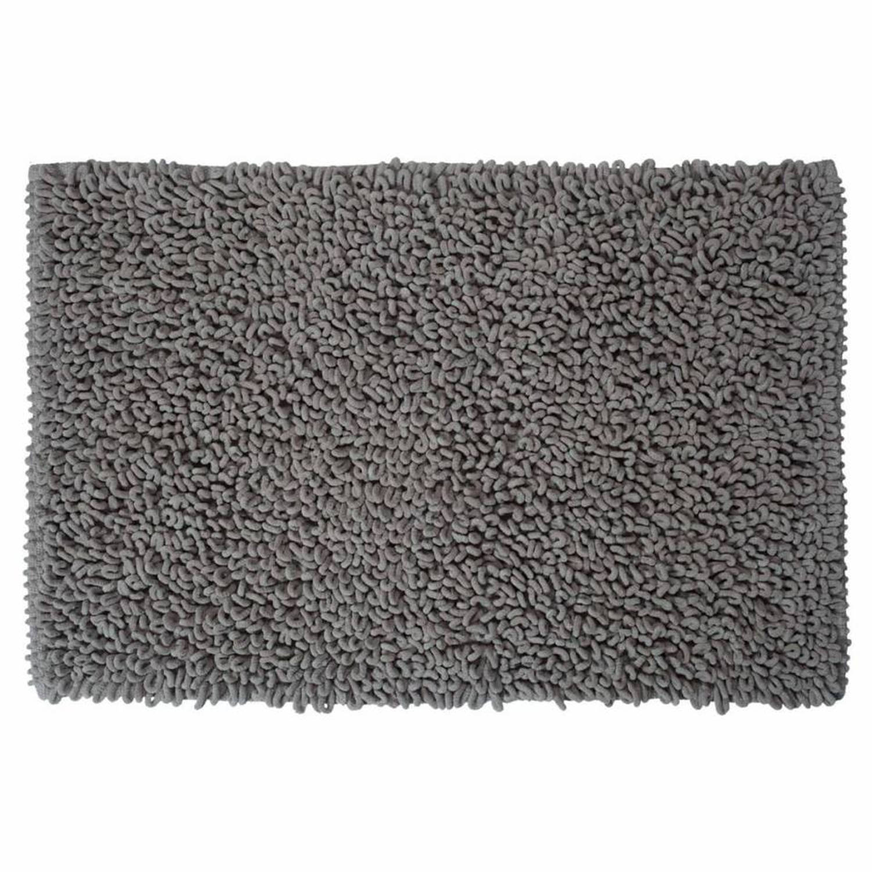 Sealskin badmat Twist - Microfibre - 60x90 cm - Grijs