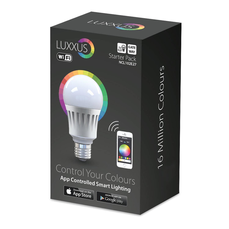 Nikkei luxxus color pakket inclusief multi-kleur lamp + gateway