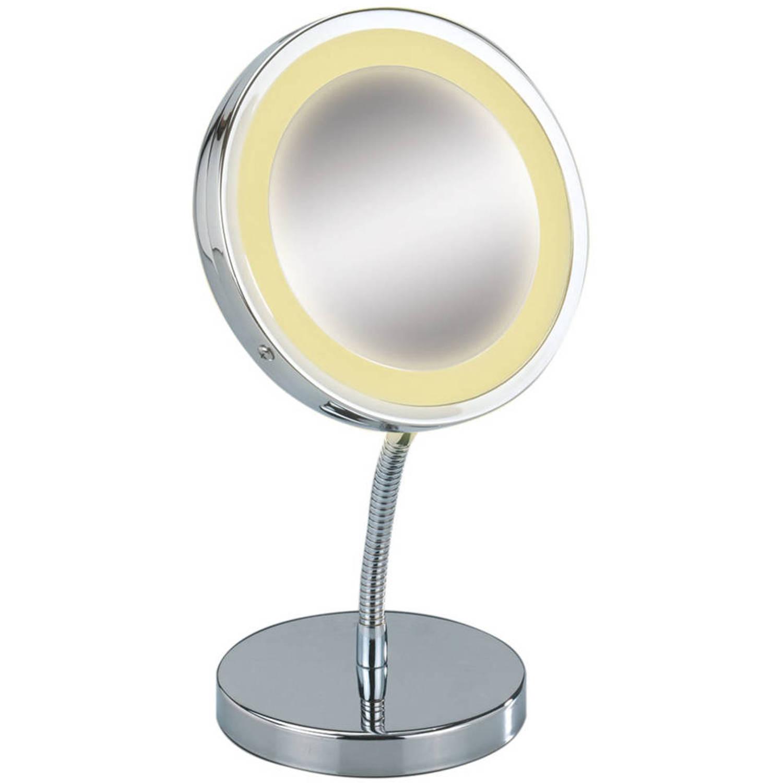 Gallery of spiegel met verlichting blokker with staande for Passpiegel blokker