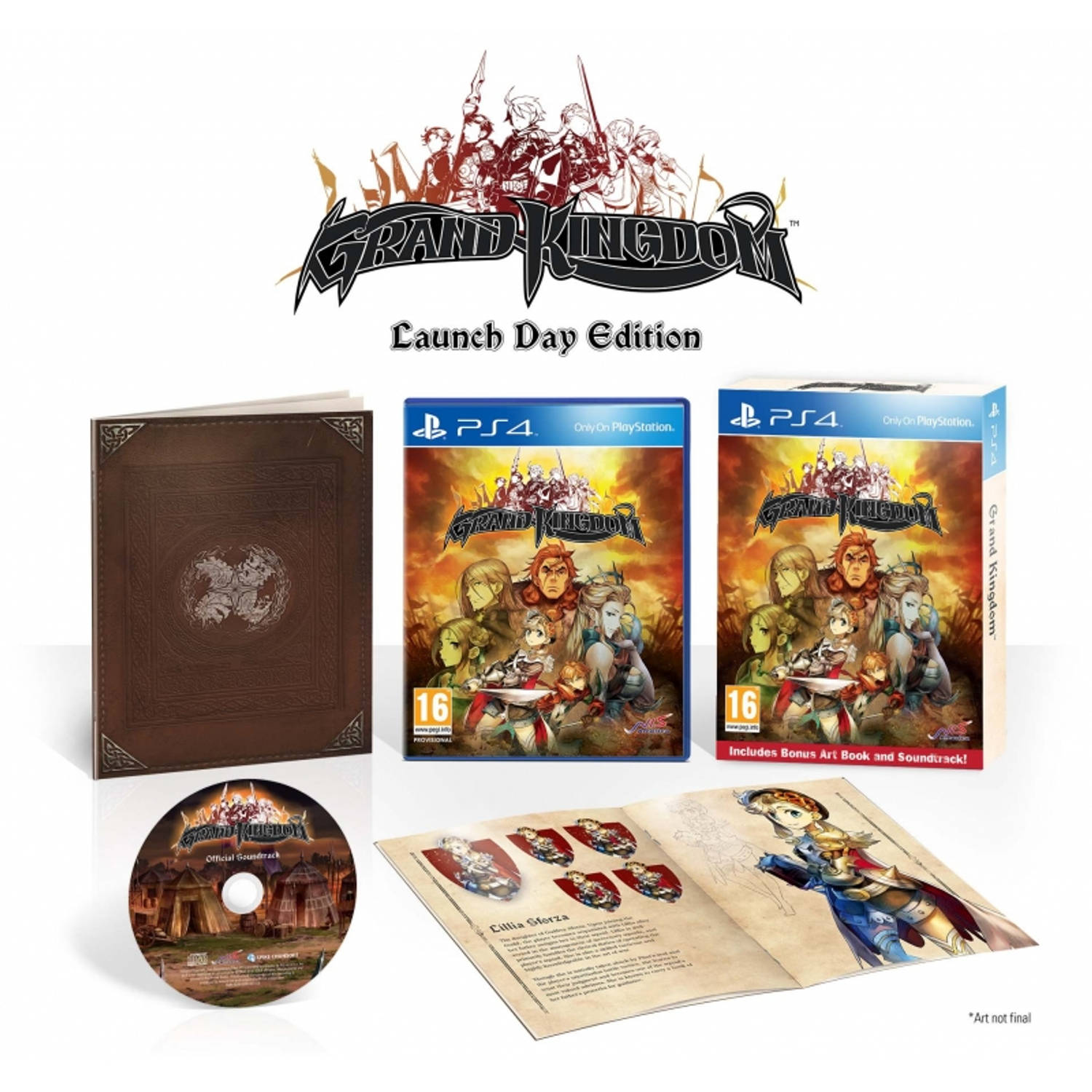 Grand Kingdom (Launch Day Edition) PS4
