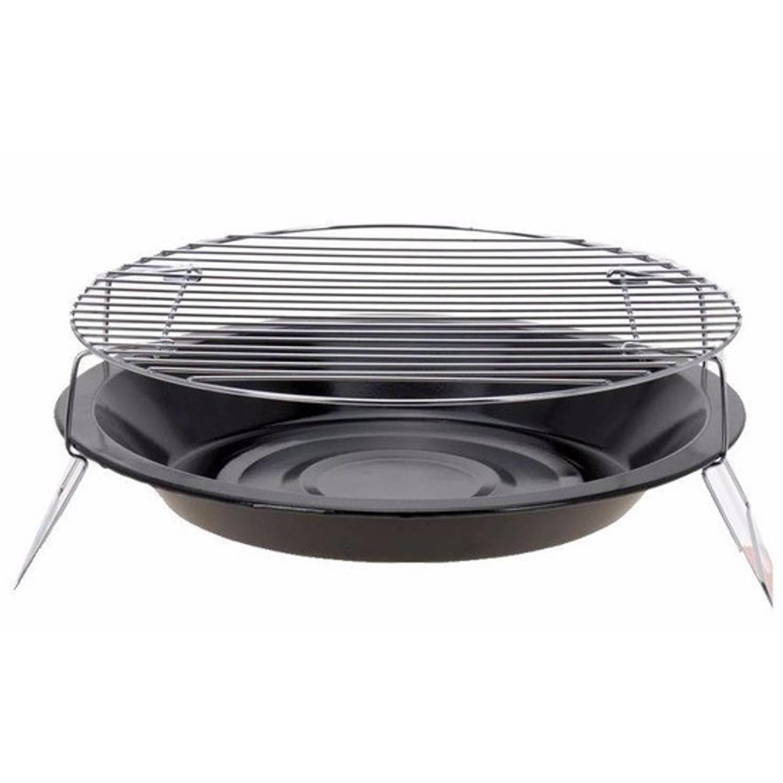 Ronde barbecue zwart 36 cm