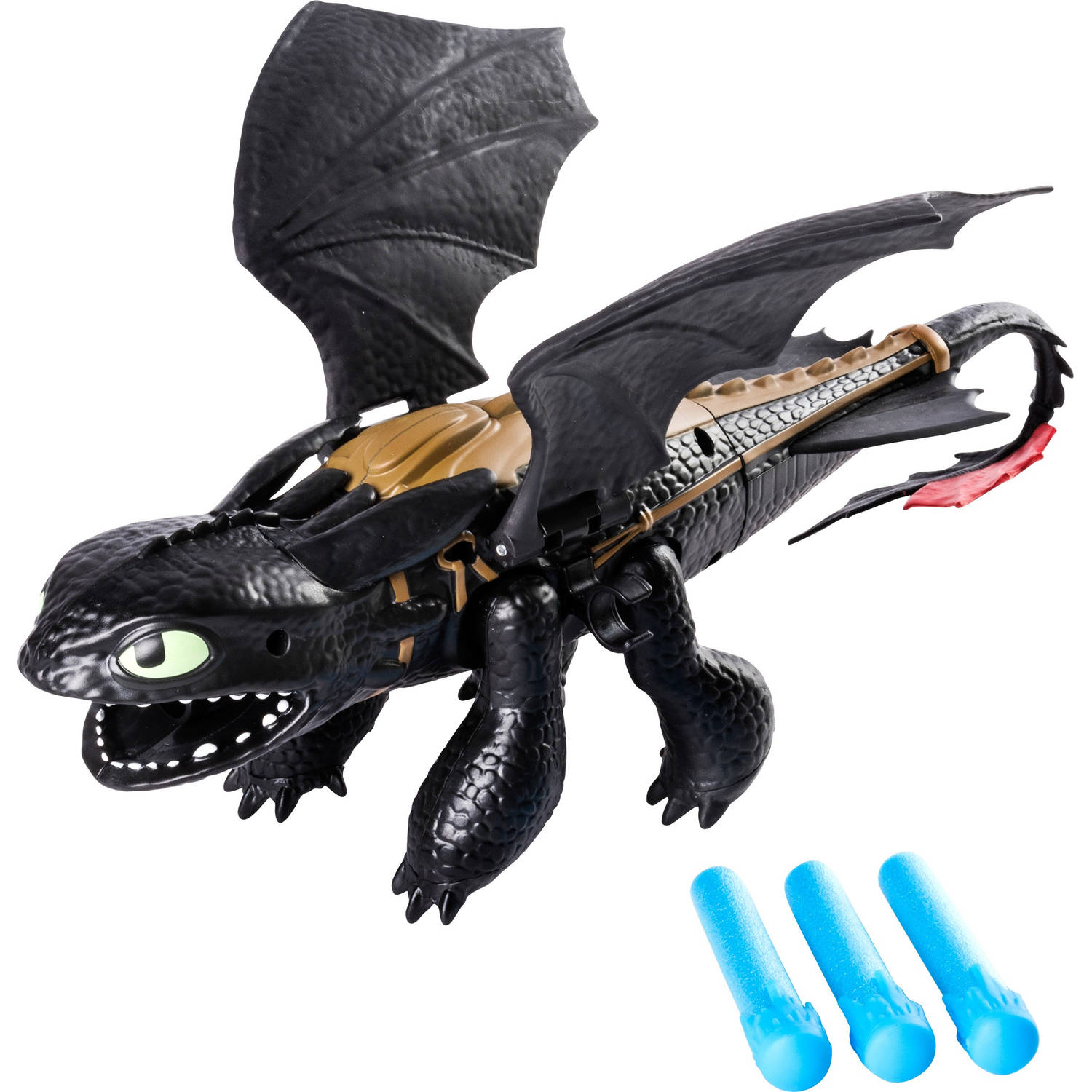 Dragons - Toothless dragon blaster