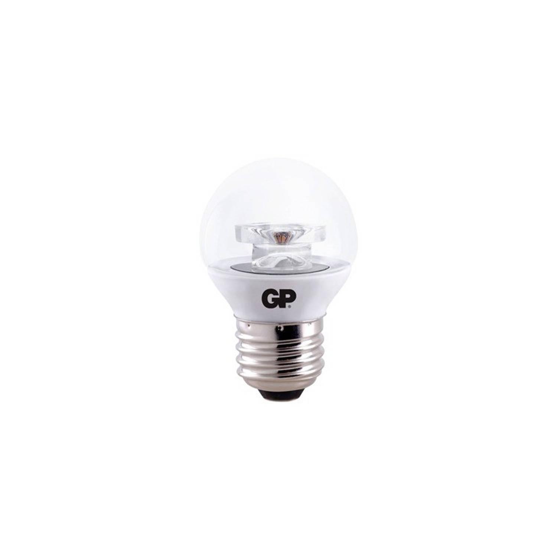LED Mini Globe Clear E27 4W