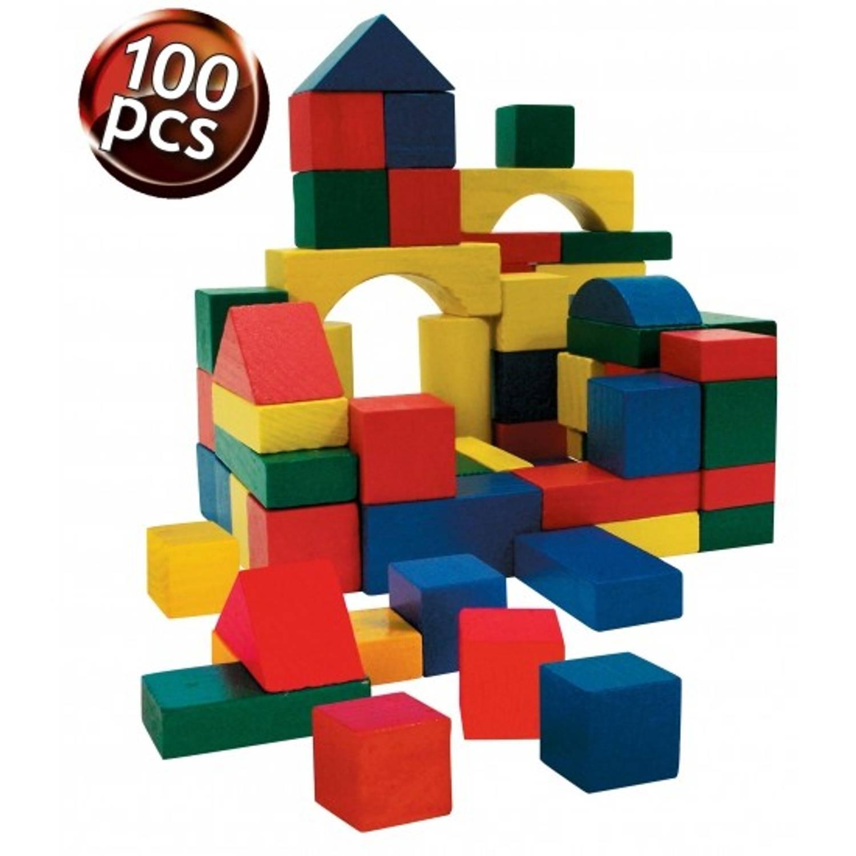 Afbeelding van Speelgoed blokken 100 x