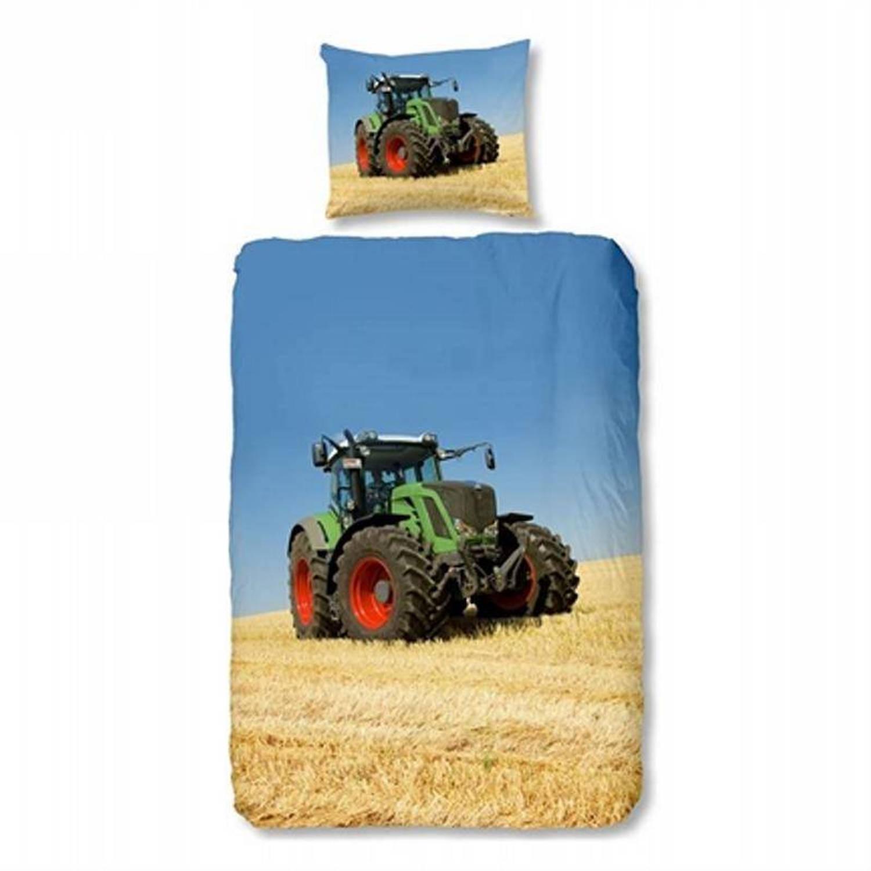 Good morning tractor dekbedovertrek - junior (120x150 cm + 1 sloop)