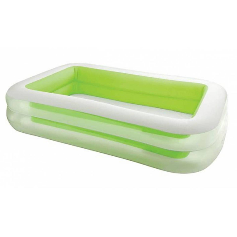 Groen intex opblaas zwembad 262 cm blokker for Blokker zwembad