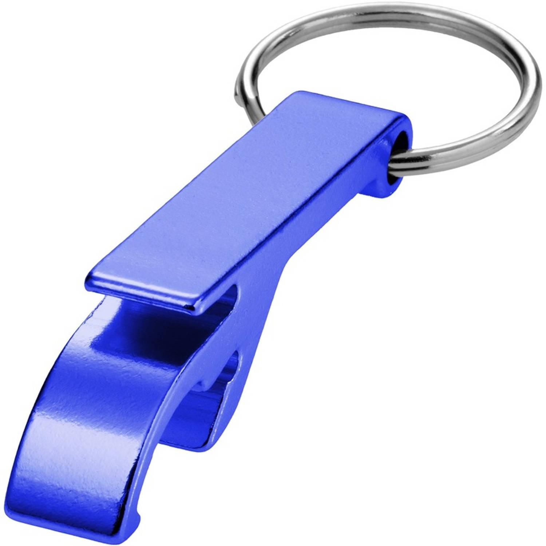 Korting Flesopener Sleutelhanger Blauw
