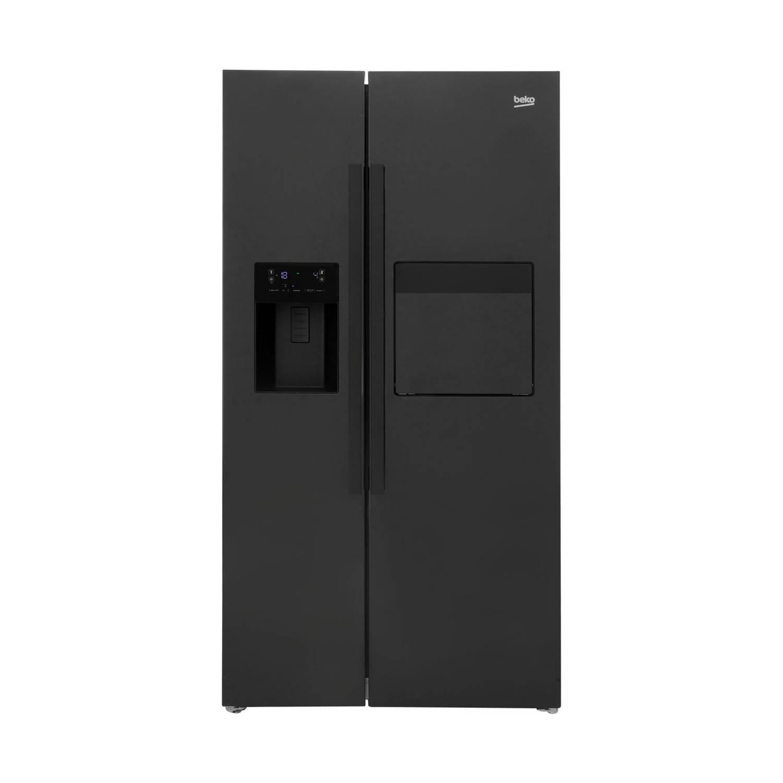Beko GN162430P amerikaanse koelkasten - Zwart