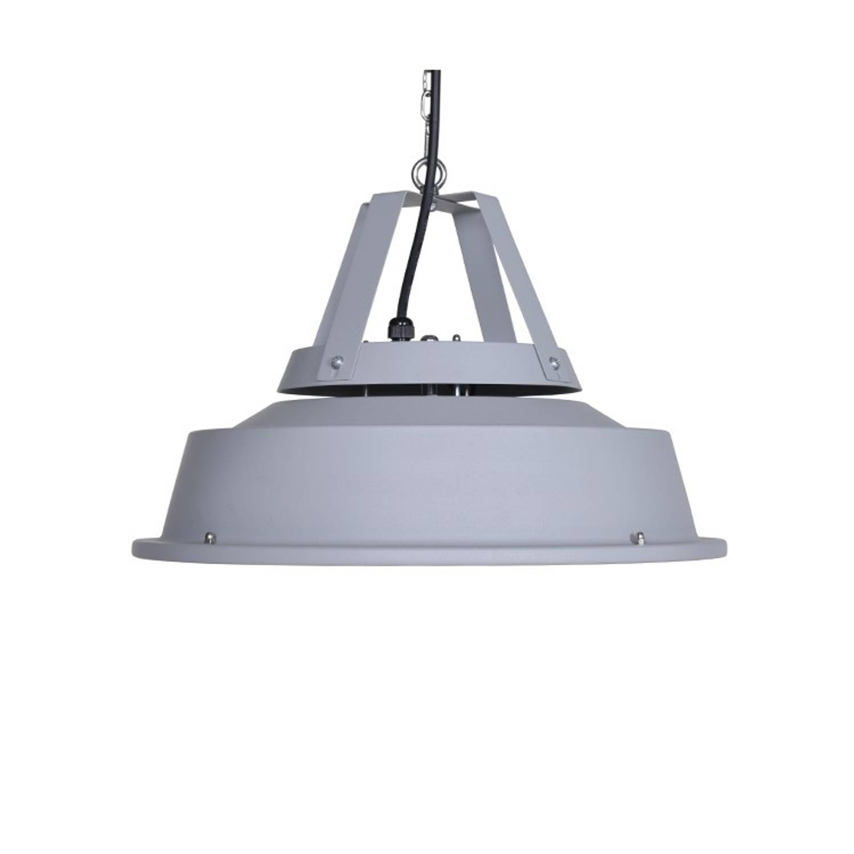 Korting Retro Hangende Heater 43cm Mat Carbon Grey 1500w