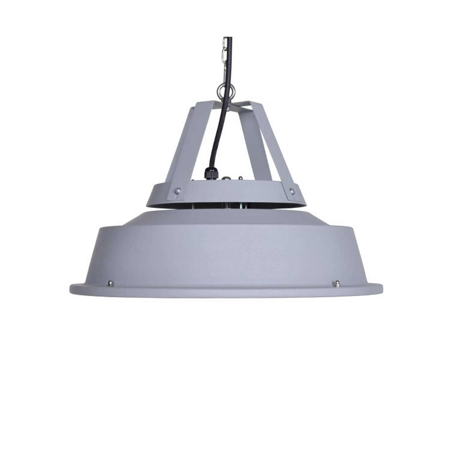 Retro hangende heater 43cm mat carbon grey/ 1500w