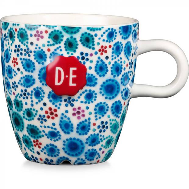 Douwe Egberts Dutch Indigo mok - dutch dots - 27 cl -