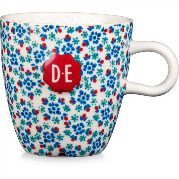 Douwe Egberts Dutch Indigo mok - sweet flowers - 27 cl