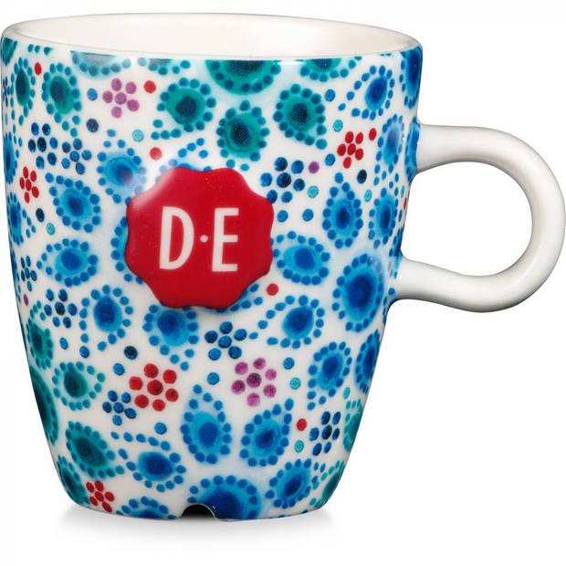 Douwe Egberts Dutch Indigo mok - dutch dots - 15 cl