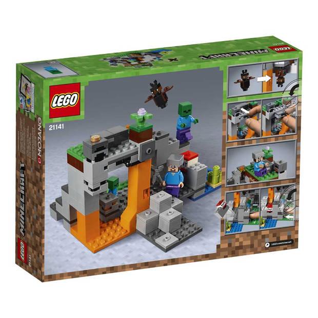 LEGO Minecraft de zombiegrot 21141