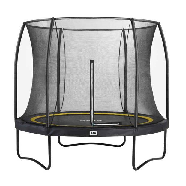 Salta Comfort trampoline met rand rond - 213 cm - zwart