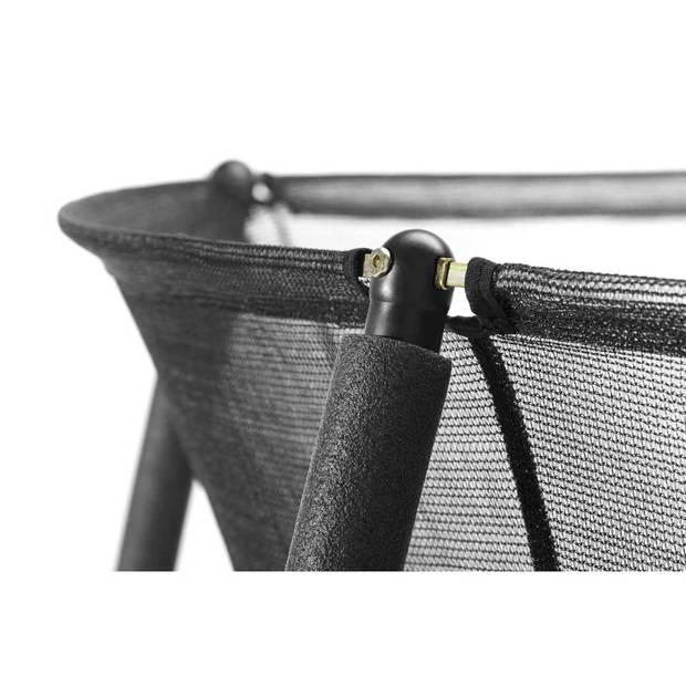 Salta Comfort trampoline met rand rond - 251 cm - zwart