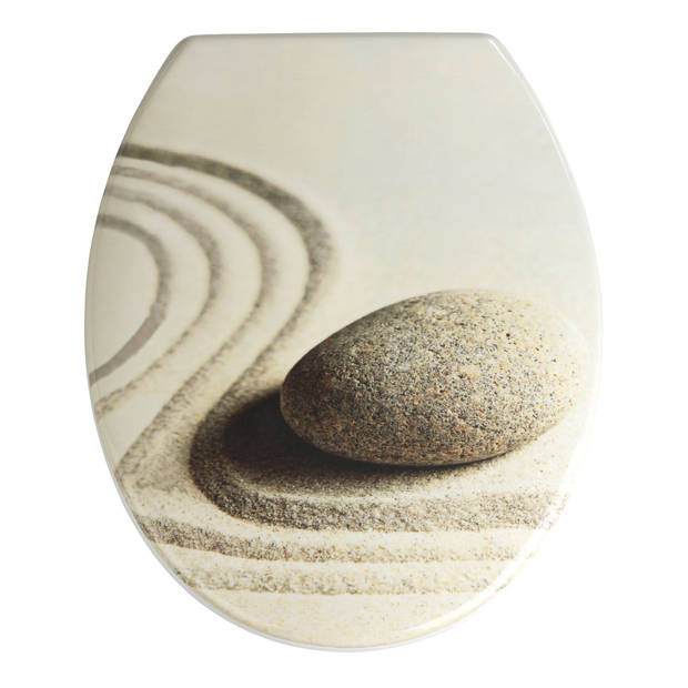 Wenko wc-bril sand and stone