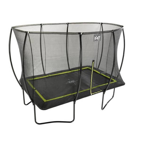 EXIT Silhouette trampoline rechthoekig - 214 x 305 cm - zwart