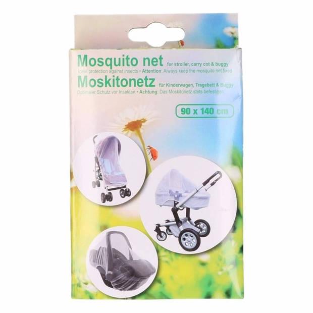 Anti muggen net / klamboe voor de kinderwagen/buggy/autostoeltje - Universeel