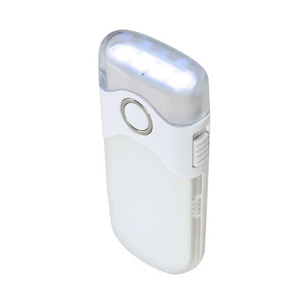 Alecto ATL-80 oplaadbare LED zaklamp/automatisch nachtlampje