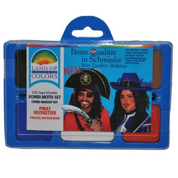 Schminkset piraat
