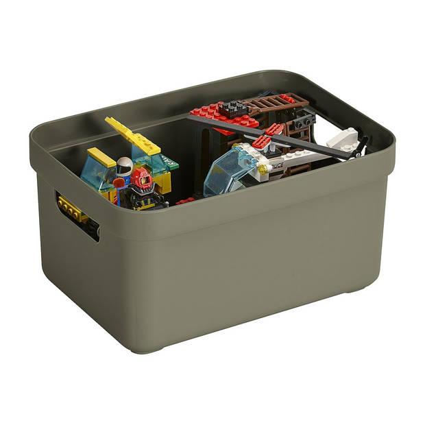 Sunware Sigma home opbergbox 5L - donkergroen