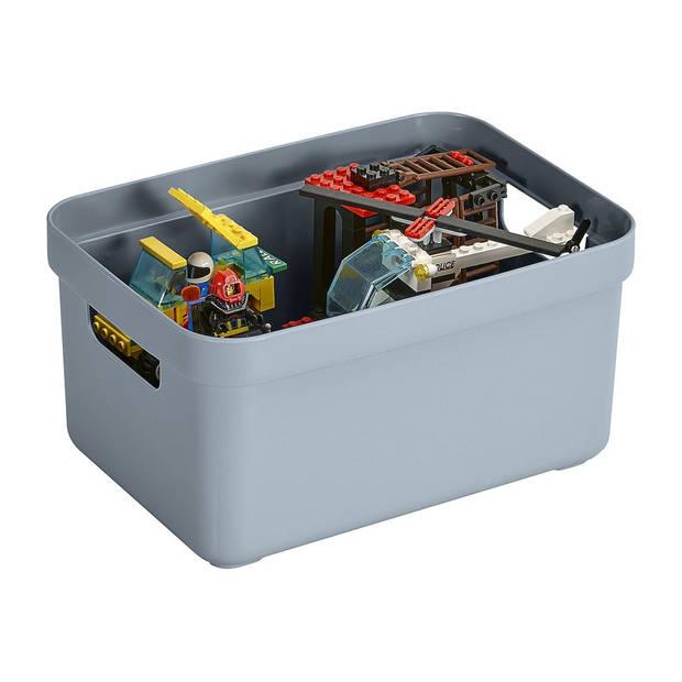 Sunware Sigma home opbergbox 5L - blauw