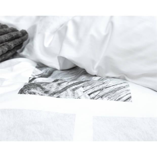 Primaviera deluxe landscape white - dekbedovertrek: 1-persoons (140 cm)