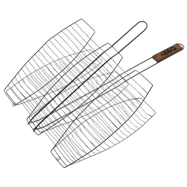 BBQ visrooster - 3 vissen