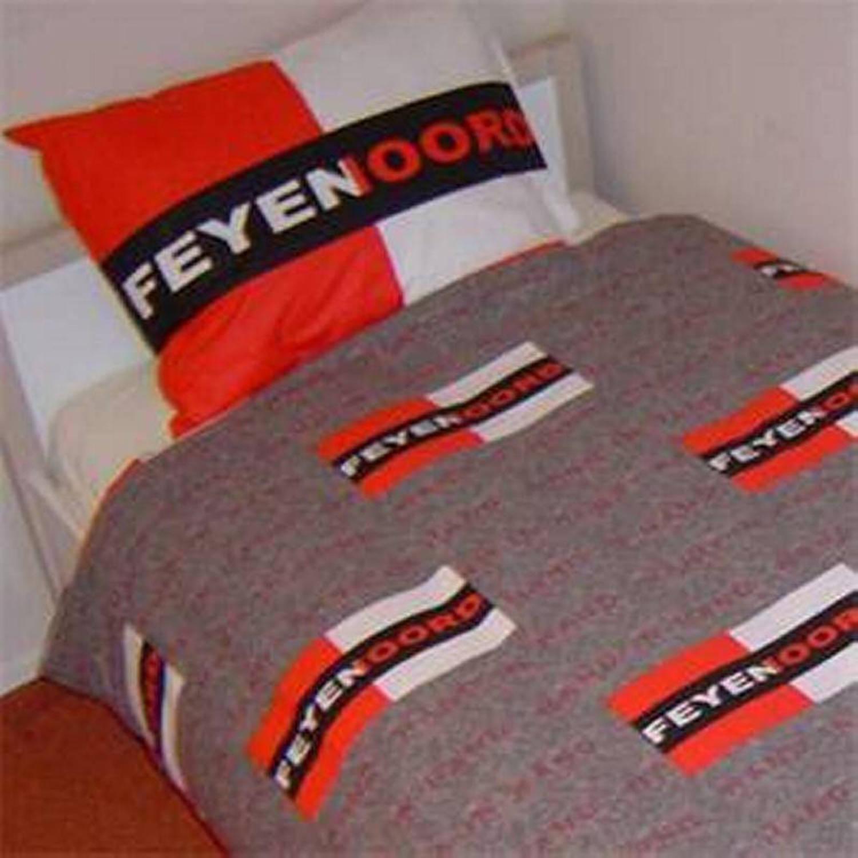 Feyenoord Dekbedovertrek 1 Persoons.Feyenoord Dekbedovertrek 1 Persoons 140x200 Cm 1 Sloop
