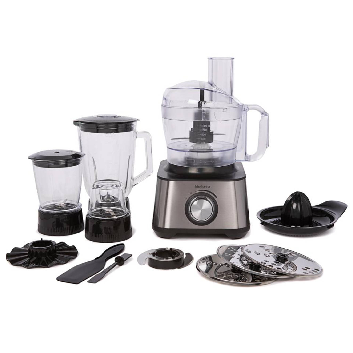 Brabantia food processor BBEK1113B RVS