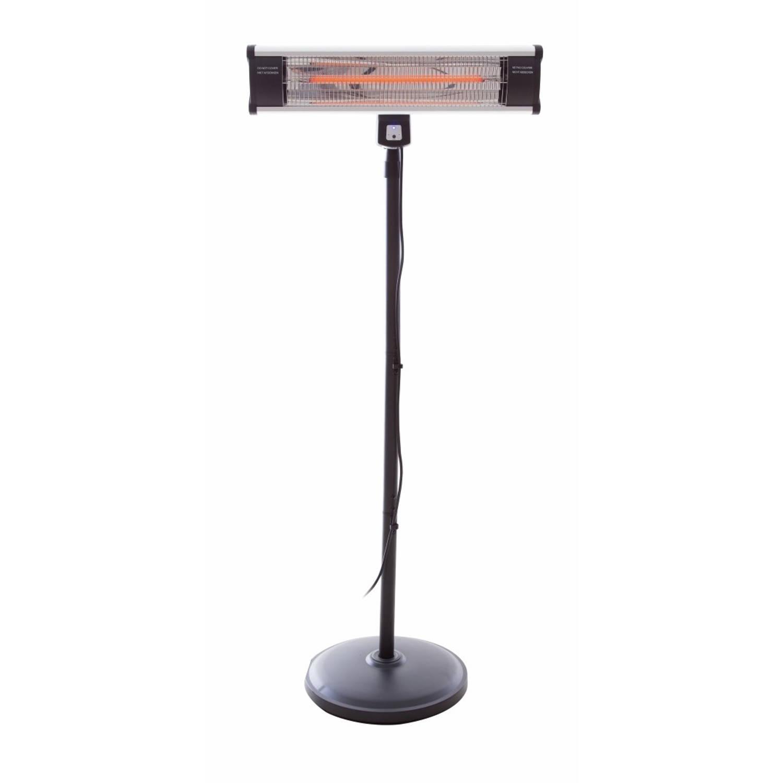 Outtrade staande terrasverwarmer Aluminium-Zwart