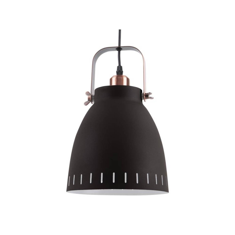 Leitmotiv Hanglamp Mingle - Metaal - Zwart - Ø26,5cm