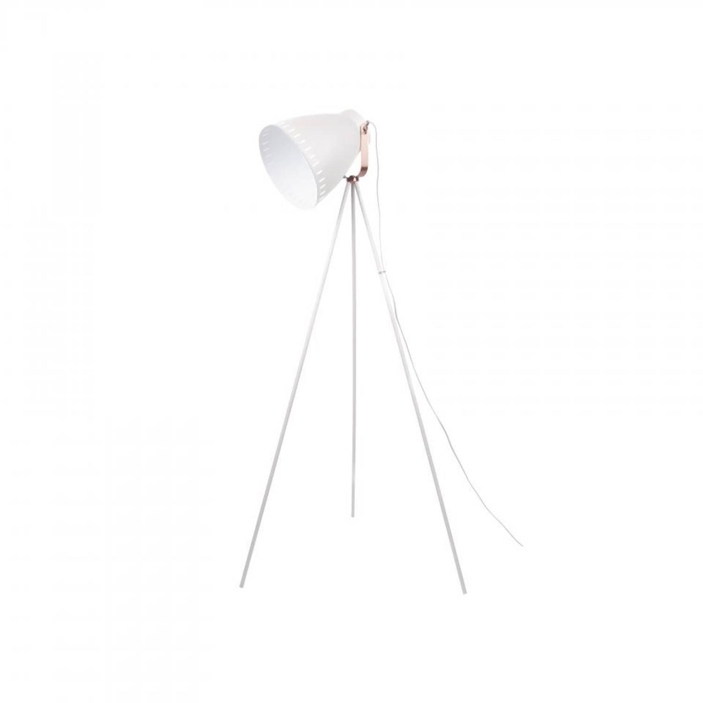 Leitmotiv Vloerlamp Mingle 3 - Metaal - Wit - 145cm