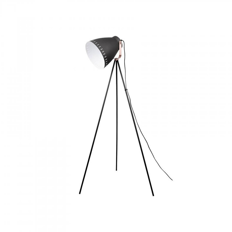 Leitmotiv Vloerlamp Mingle 3 - Metaal - Zwart - 145cm