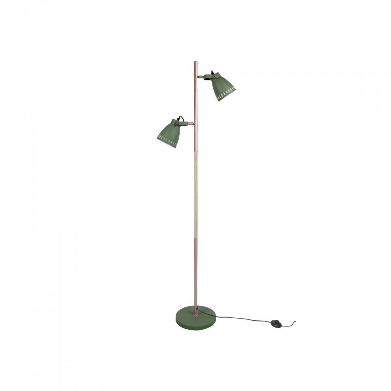 Leitmotiv Vloerlamp Mingle - Metaal - Groen - 152cm