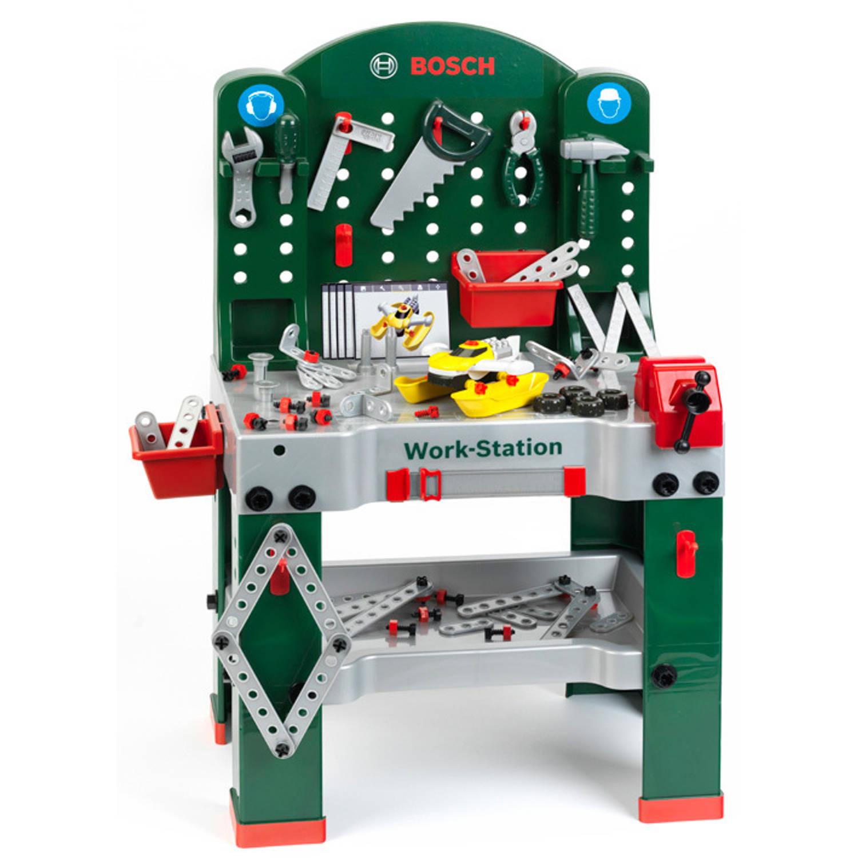 Bosch speelgoed werkbank   Blokker