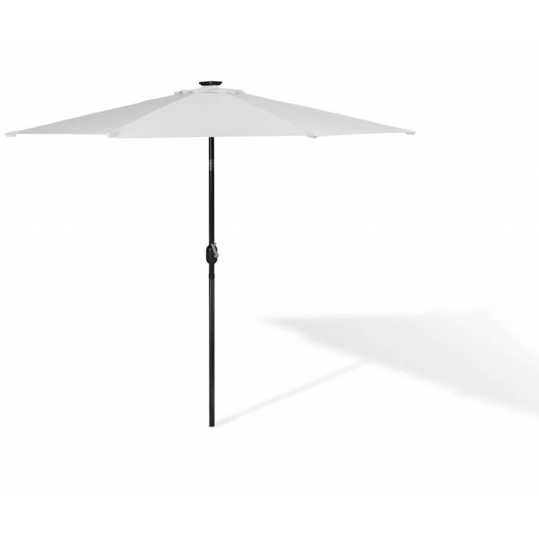 grote solar terras parasol met led verlichting parasolverlichting zonneparasol