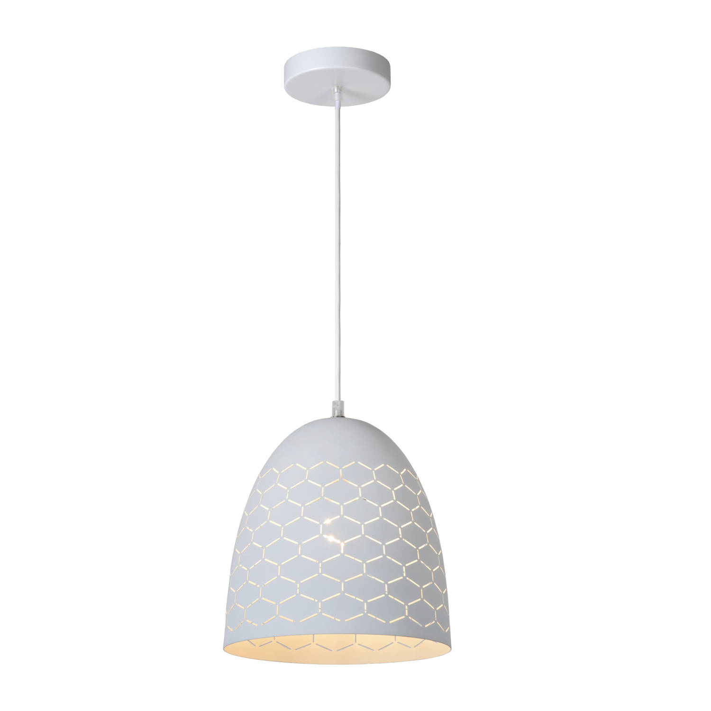 Lucide - galla hanglamp 24cm - wit